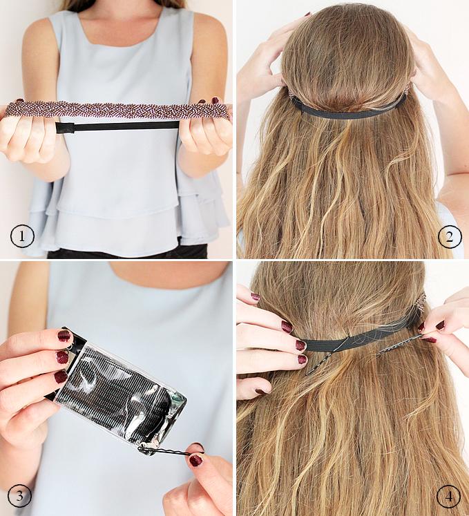 Préparation Headband