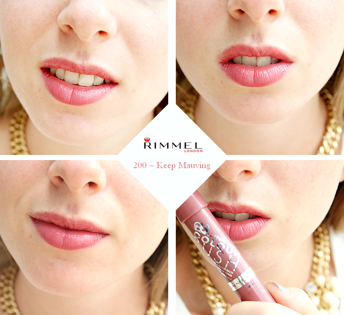 Rimmel - color rush Keep Mauving