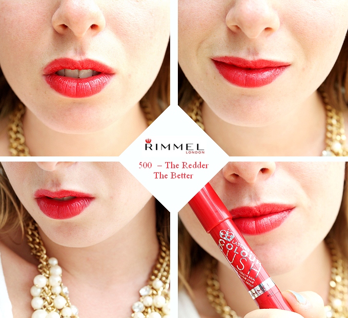 Rimmel - color rush redder better