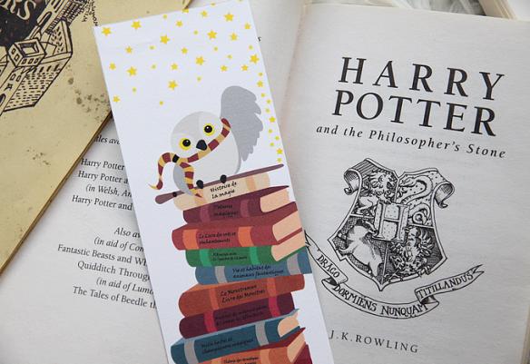 Marque Page Harry Potter A Imprimer Perles De Rubis
