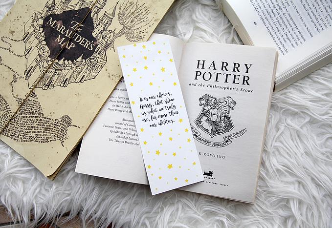 Assez Marque-page Harry Potter, à imprimer – Perles de Rubis TK07