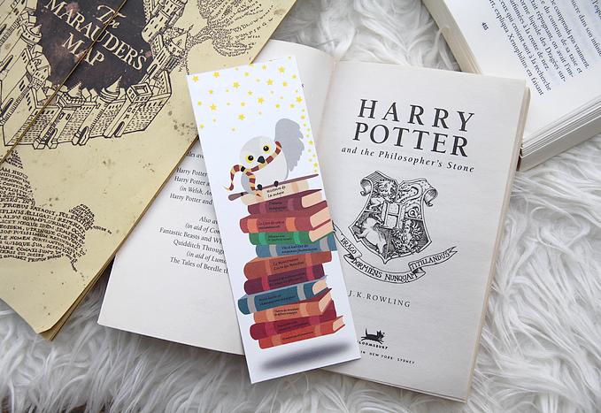 Extrêmement Marque-page Harry Potter, à imprimer – Perles de Rubis IX85